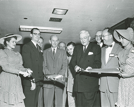 1948 Ribbon Cutting